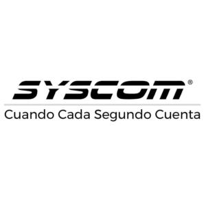 Logo Syscom, empresa distribuidora de productos NEP en México y Colombia ,