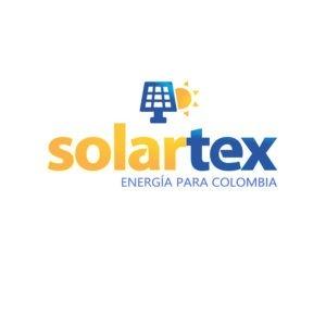 Logo Solartex, empresa distribuidora de productos NEP en Colombia
